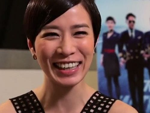 Charmaine Sheh at Marina Bay Sands