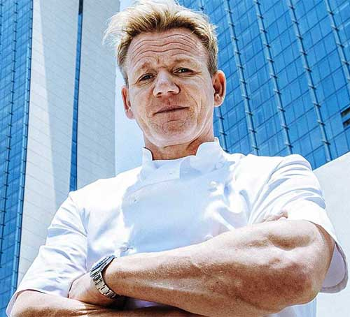 主廚 Gordon Ramsay 在 Marina Bay Sands