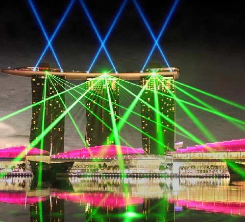 Wonderfull Light Show at MBS
