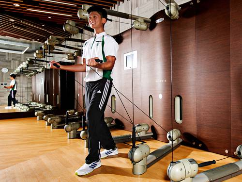 Personal Training at Banyan Tree Fitness Club in Singapore
