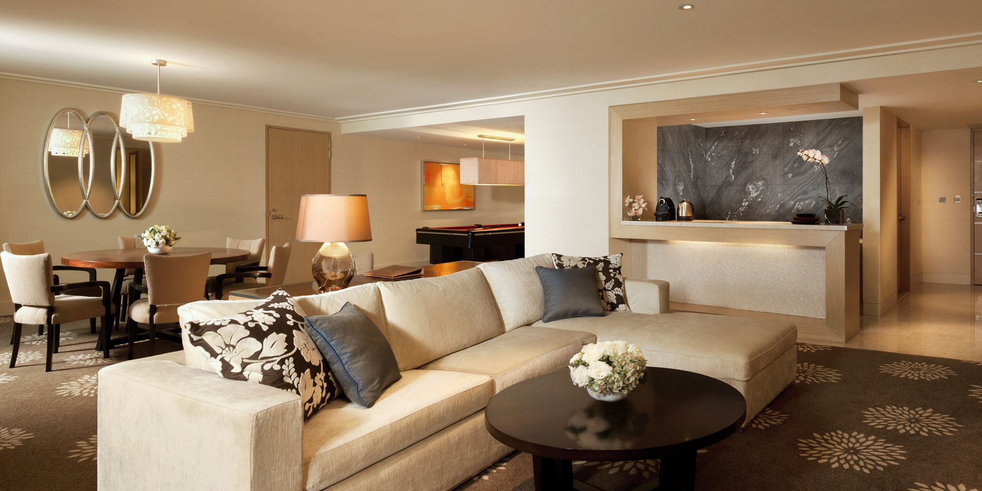 Sands Suite Living Room at Marina Bay Sands