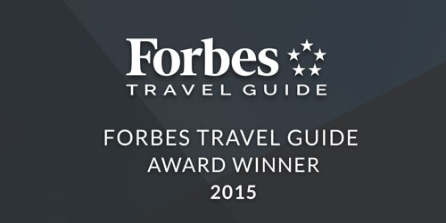 Forbes Travel Guide Award for CUT by Wolfgang Puck