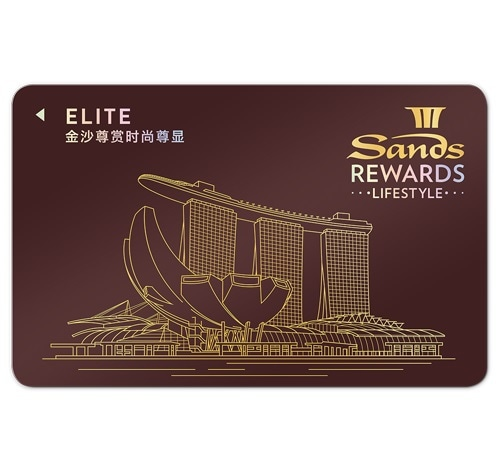 Elite Card - Sands Rewards LifeStyle