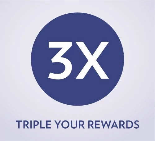 3X Rewards promotion for Sands Rewards LifeStyle members