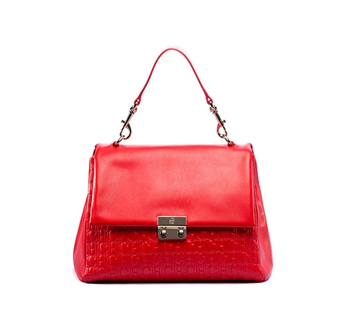 CH Carolina Herrera: BARET Bag in Red