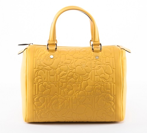 CH Carolina Herrera - Bouquet Andy Bag in Yellow