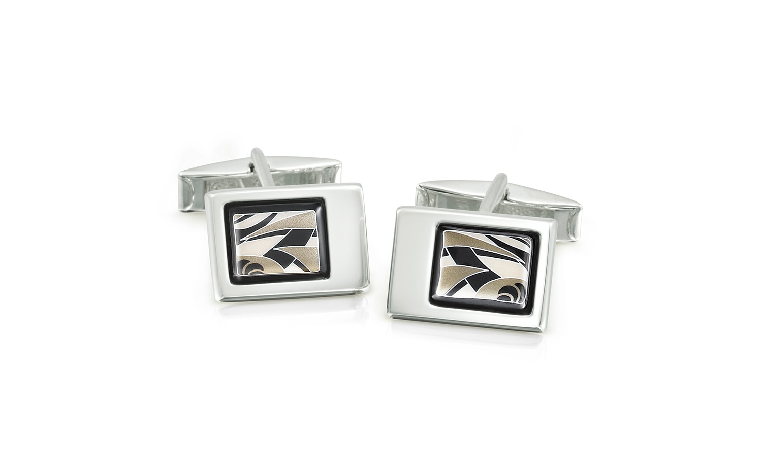 Frey While: Black Eagle Booklet Cufflinks