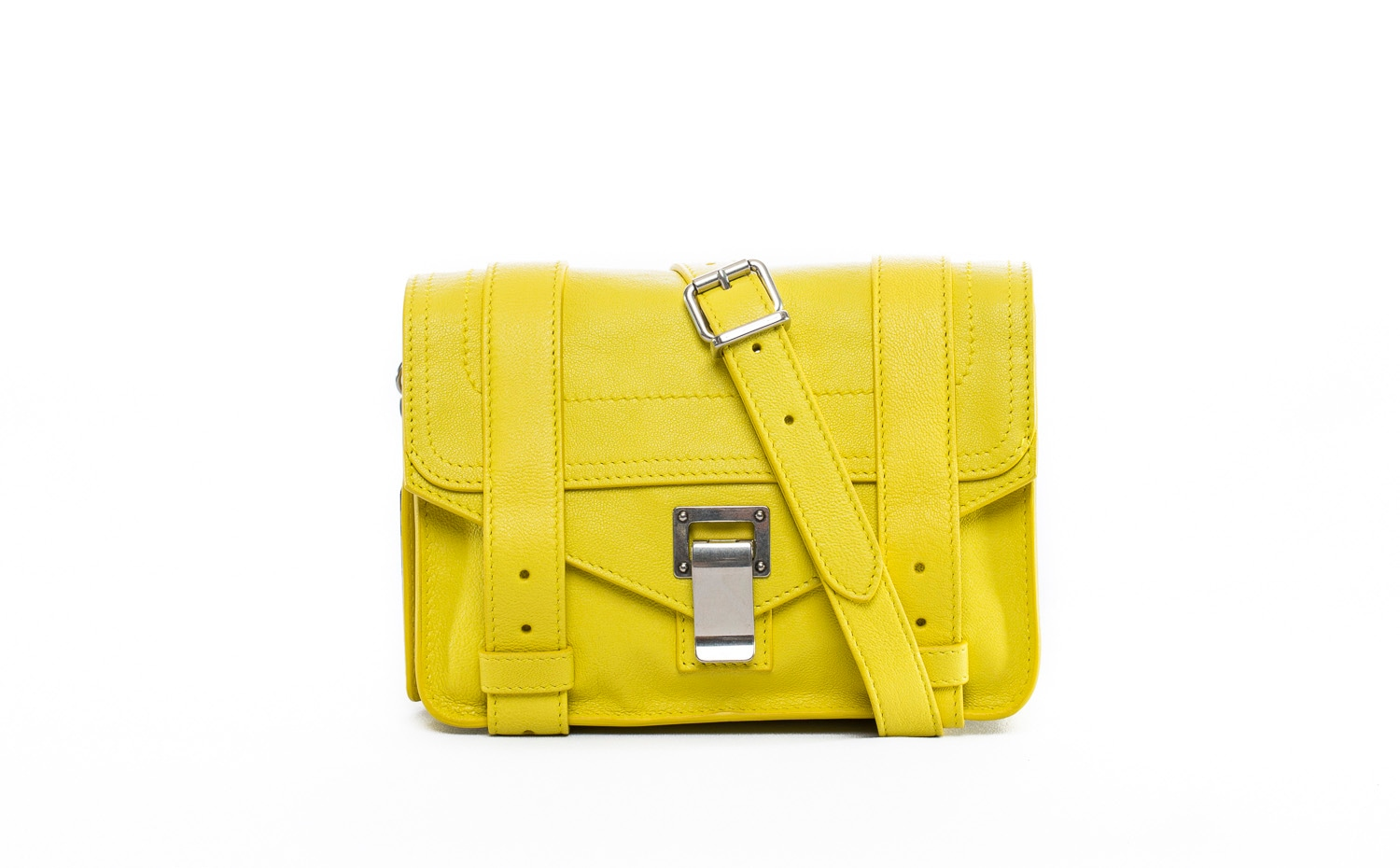 Proenza Schouler: PS1 Mini Crossbody in Absinthe