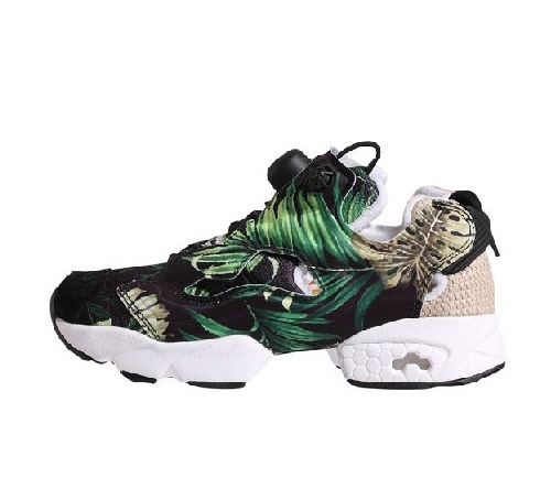 Reebok Instapump Fury X 「Jungle Gurl」 聯乘系列