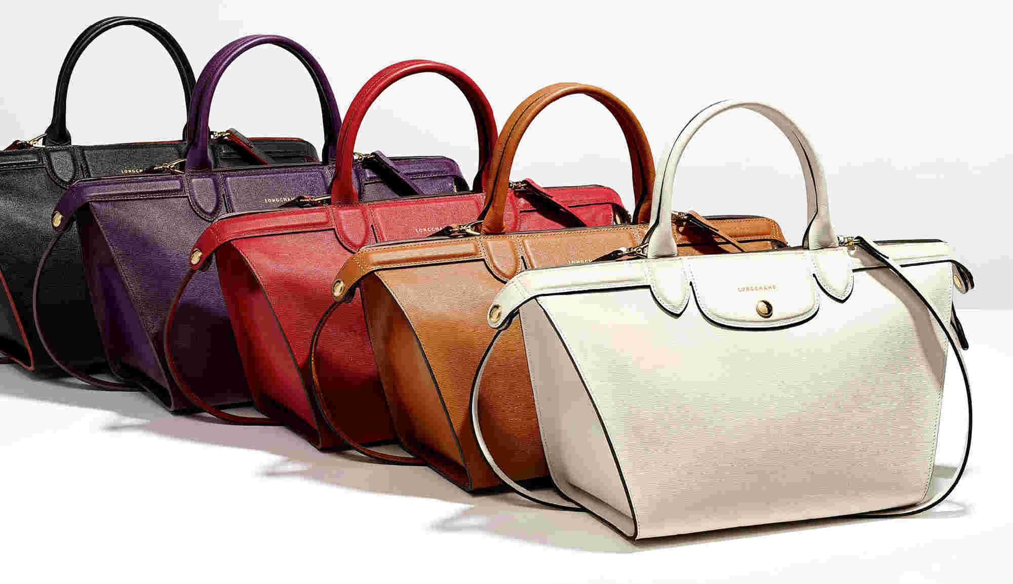 Longchamp Bags in Different colors