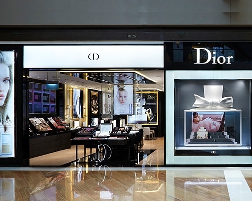 Parfums Christian Dior at the Shoppes Marina bay sands