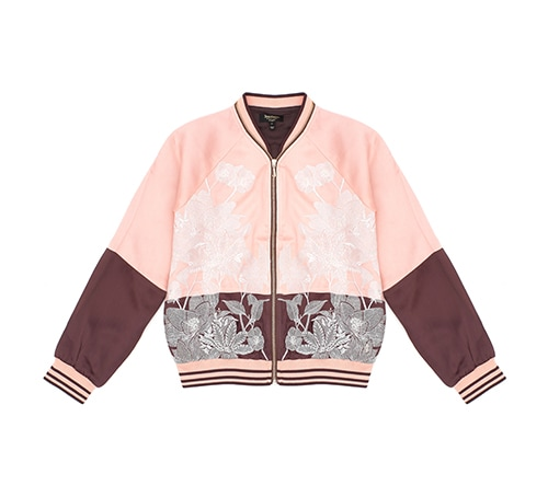 JUICY COUTURE Floral embroidery Jacket